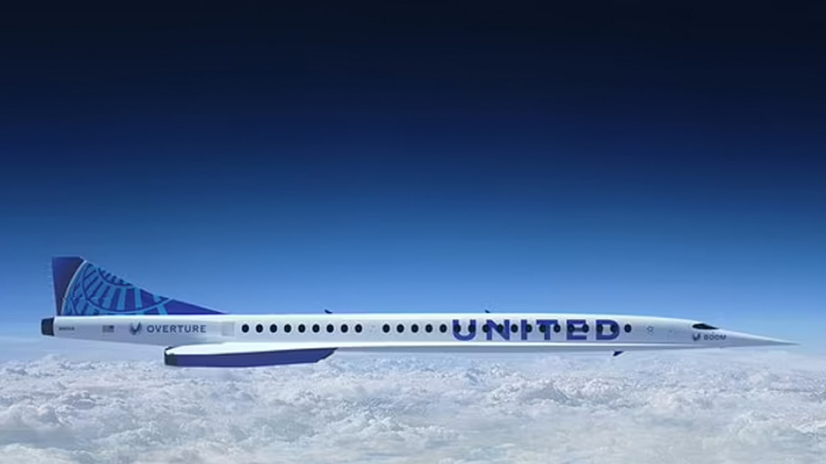 United to Buy 15 Supersonic Jets, Fly NYC to London in 3.5 Hours