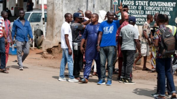 Transport union workers, security operatives disperse June 12 protesters in Lagos
