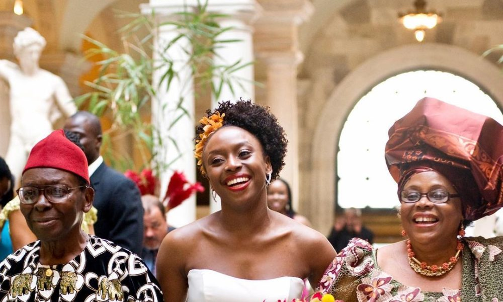 """Chimamanda Ngozi Adichie Pens Write Up about """"Questioning Convention"""" to Honour Her Mum"""