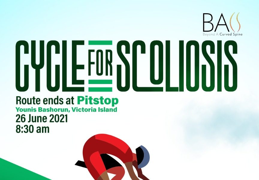 """You're Invited to """"Cycle For Scoliosis"""" in Lagos this Saturday"""