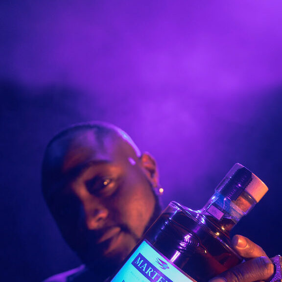 Maison Martell's new ambassador is DAVIDO! Superstar is face of upcoming Martell Blue Swift campaign in Nigeria