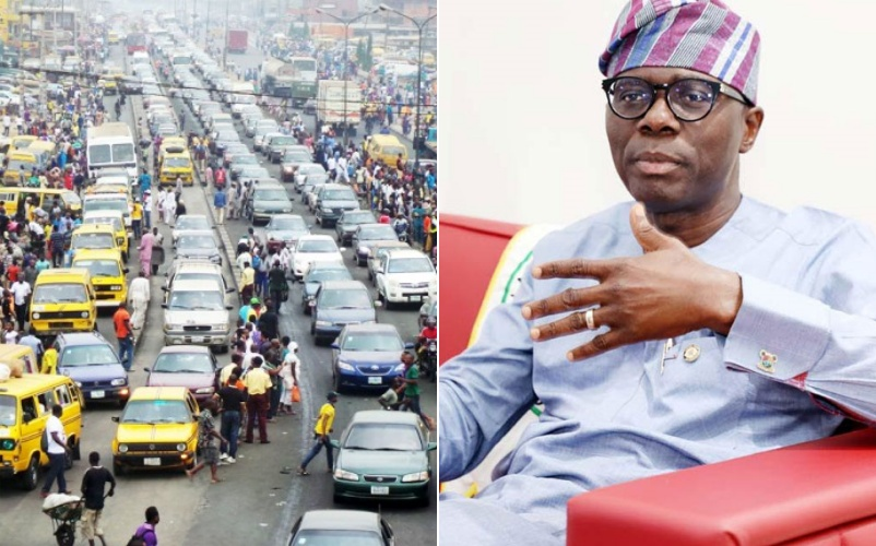 """""""Roll up your car windows to avoid getting robbed in traffic""""- Sanwo-Olu to Lagosians"""