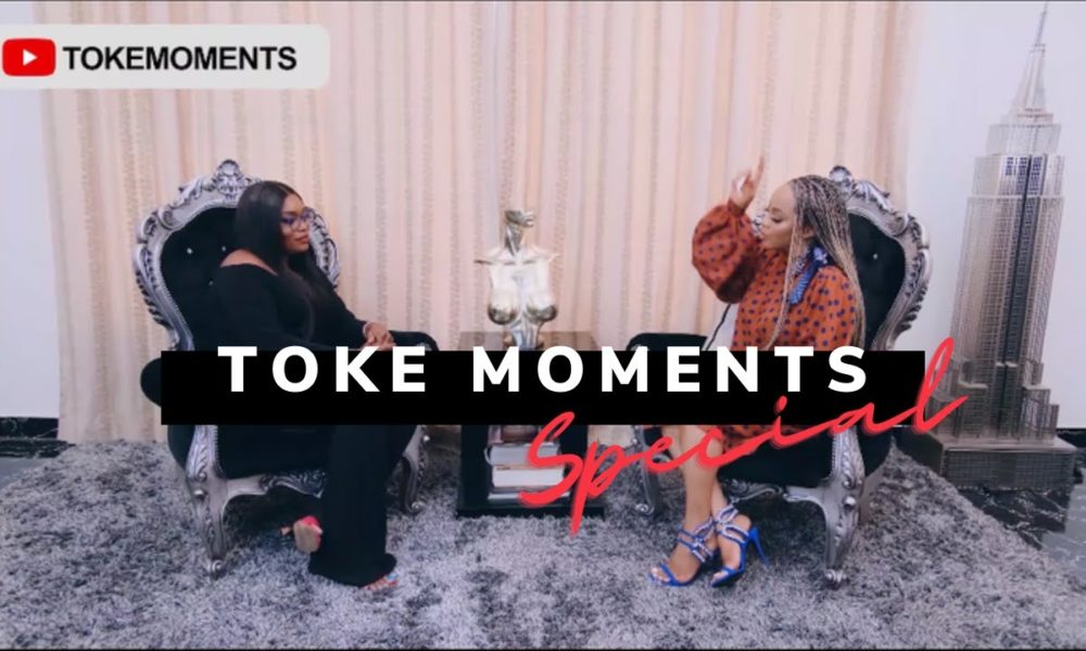 """'Instagram vs Reality' - Bisola Aiyeola joins Toke Makinwa in this Episode of """"Toke Moments"""""""