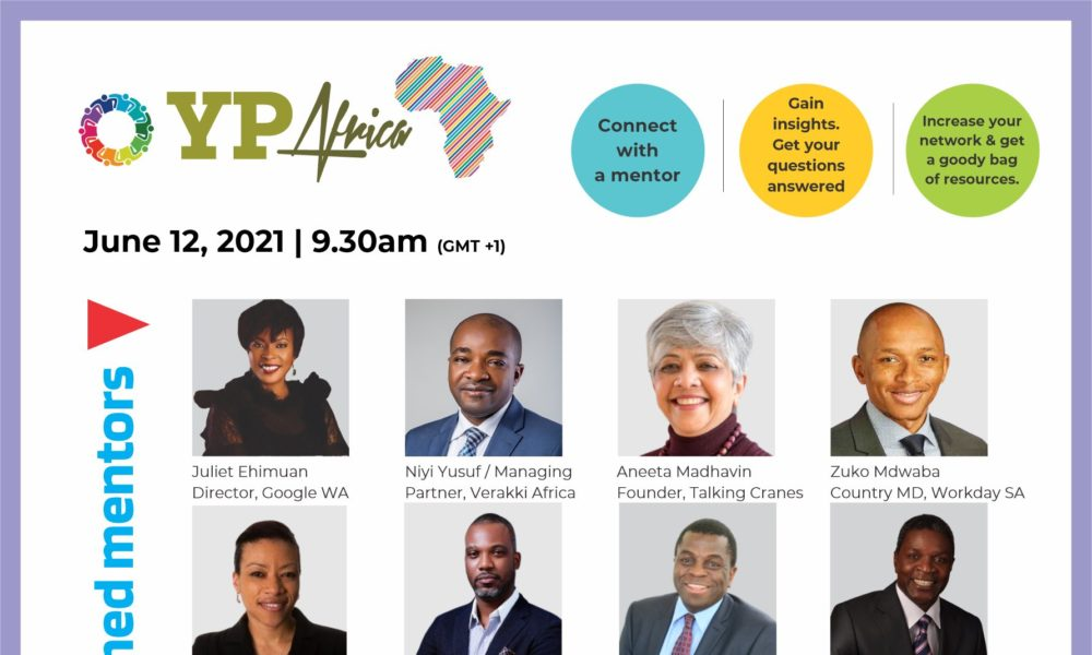 Register Today for YPAFRICA and Get Mentored by an Industry Leader | June 12