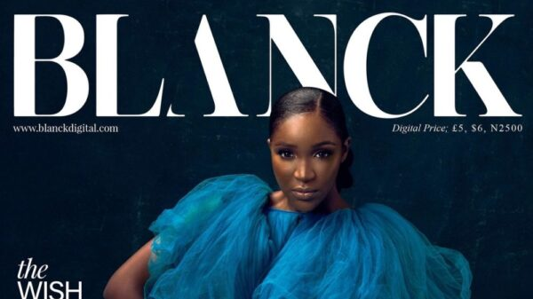 3 Covers, 1 Beauty! Idia Aisien stuns on Blanck Magazine's 15th Issue
