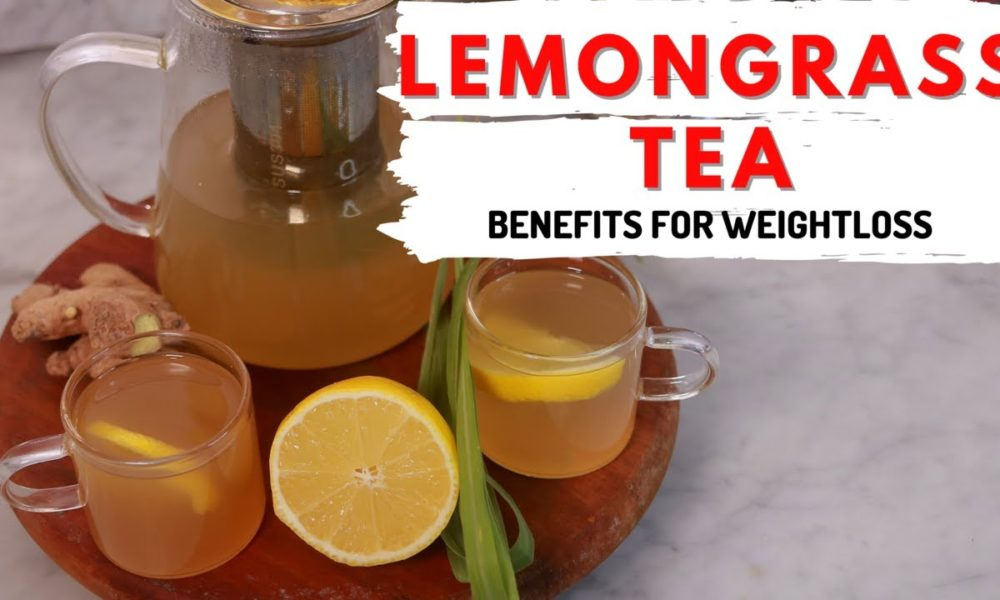 """An Easy Tutorial on How to Make Lemongrass & Ginger Tea   Watch """"Healthy Living with Tosin"""""""