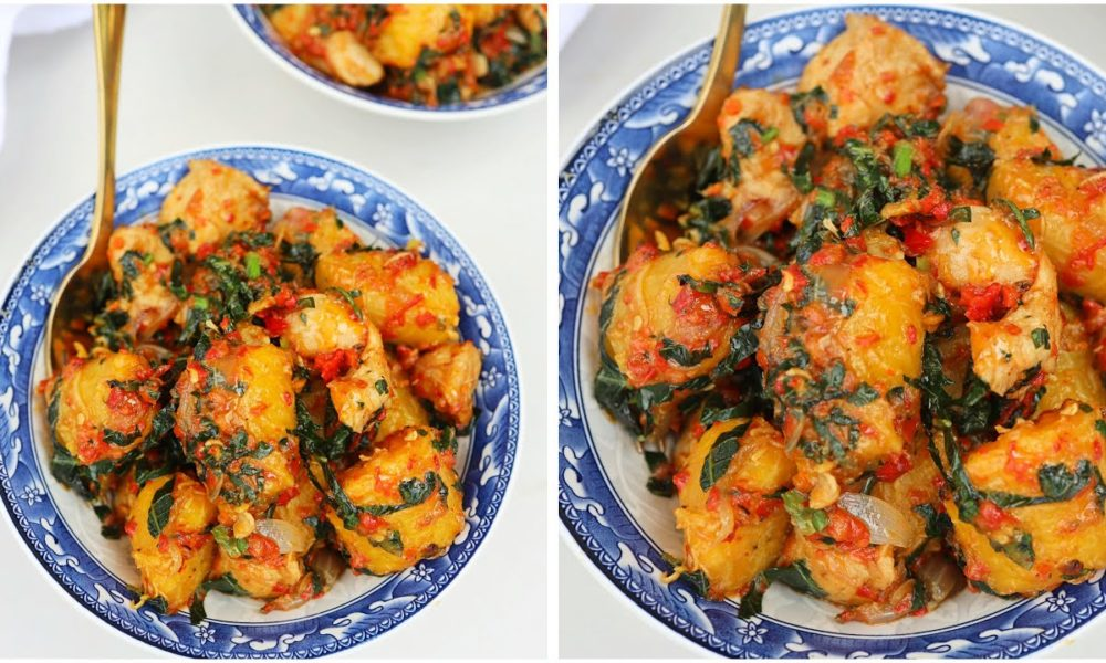 You Should Try Sisi Yemmie's Thirst-Trapping Plantain Pottage Recipe